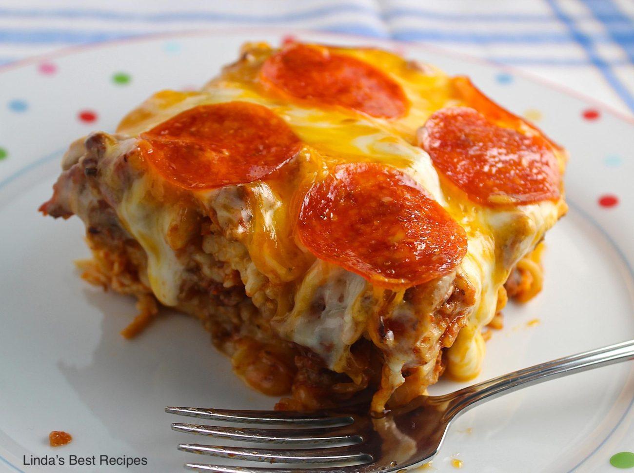 Pizza Spaghetti Style
