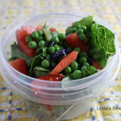 Individual Layered Salad