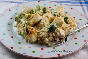 Chicken Rice and Broccoli Bake