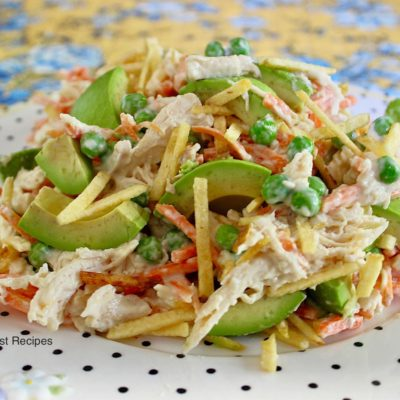 Chicken Salpicon Salad