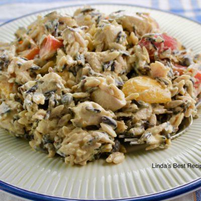 Chicken and Wild Rice Vegetable Salad