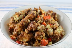Croissant Chestnut Turkey Stuffing