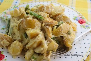 Roasted Potato Green Bean Salad
