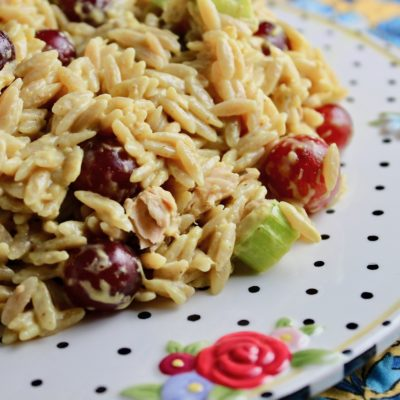 Curried Chicken Orzo Salad