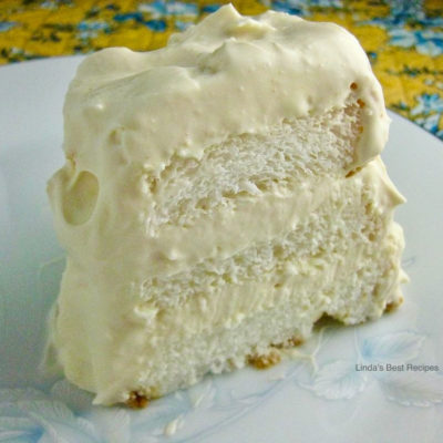 Lemon Angel Food Cake Dessert