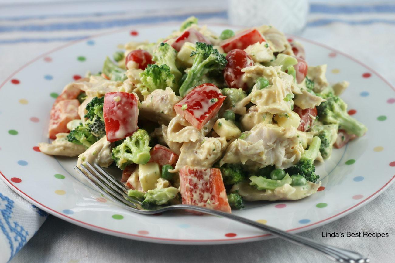 Chicken Broccoli Salad
