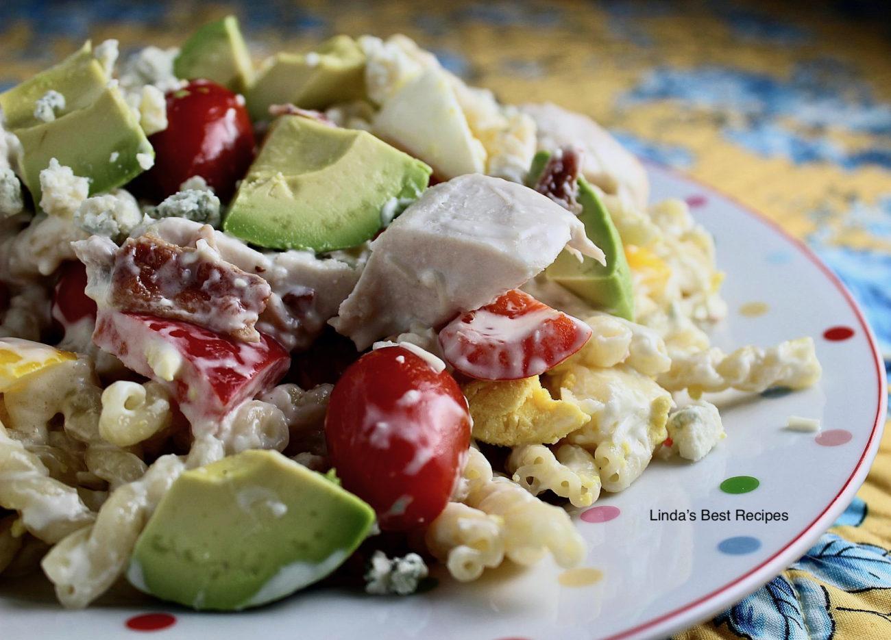 Chicken Pasta Cobb Salad
