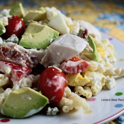 Chicken Cobb Salad with Pasta