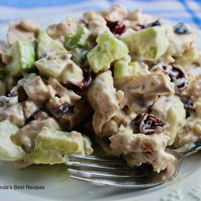 Chicken Apple Pecan Raisin Salad
