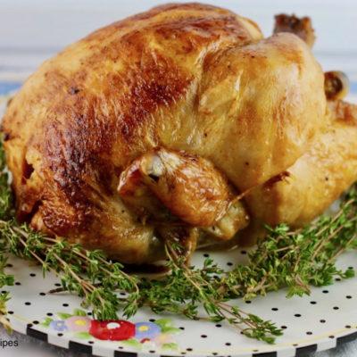 Herb Garlic Roasted Chicken